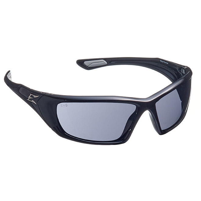 Safety Glasses Robson - Smoked Non-Polarized - Black