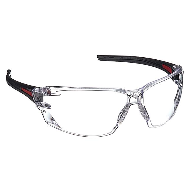 Safety Glasses Nevosa - Non-Polarized - Black/Clear