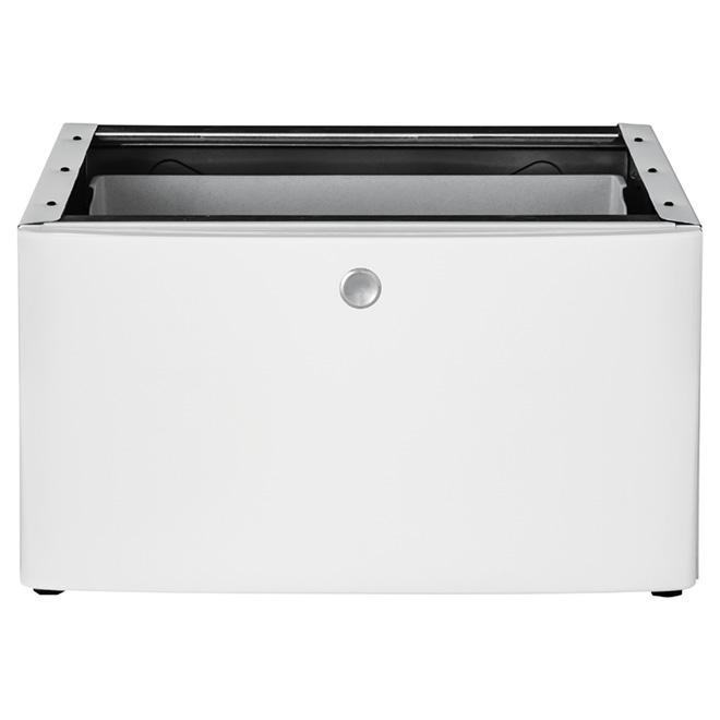 """Pedestal with Storage Drawer 27"""" - White"""