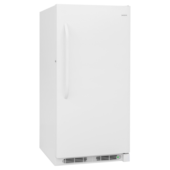 Congélateur vertical à dégivrage manuel 14.4 pi³, blanc
