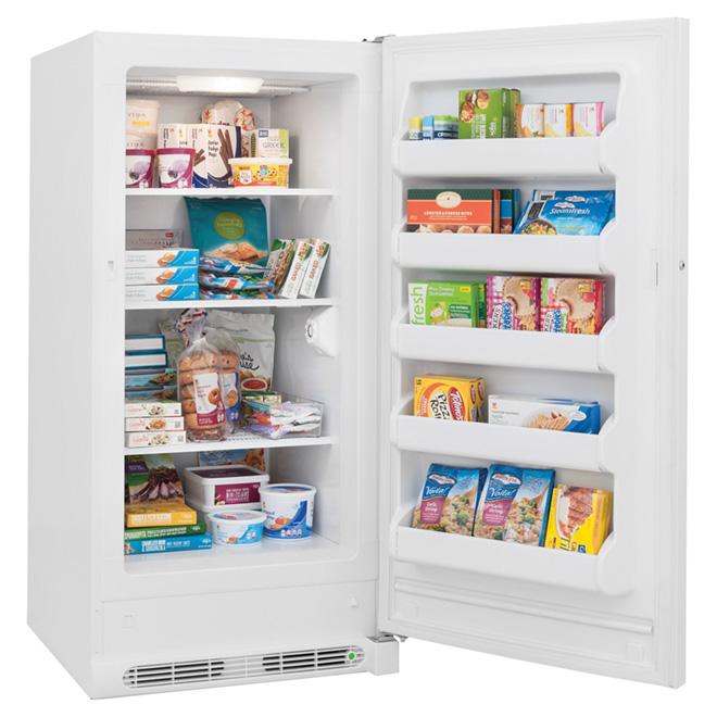 Upright Freezer - Manual Defrost - 14.4 cu.ft. - White