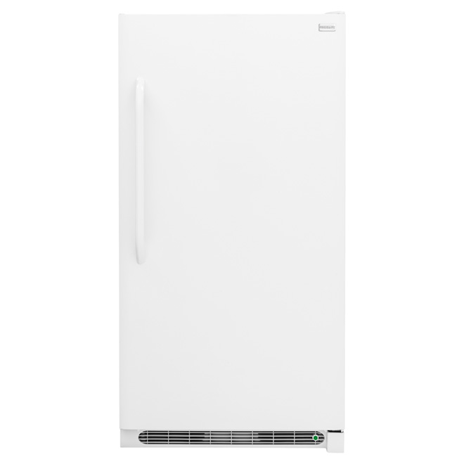 Upright Freezer with Manual Defrost 17 cu  ft  - White