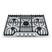 Frigidaire Pro Gas Built-In Cooktop - 30-in - Stainless Steel
