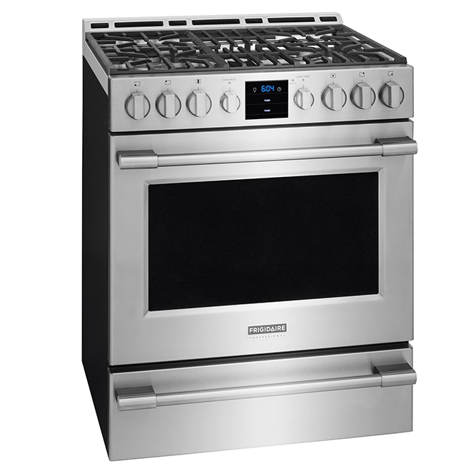 """Free-Standing Gas Range - 30"""" - 5.1 cu. ft. - Stainless Steel"""