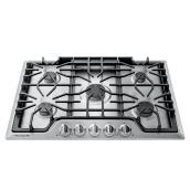 Frigidaire Gallery Gas Cooktop with 5 Burners - 30-in - Stainless Steel