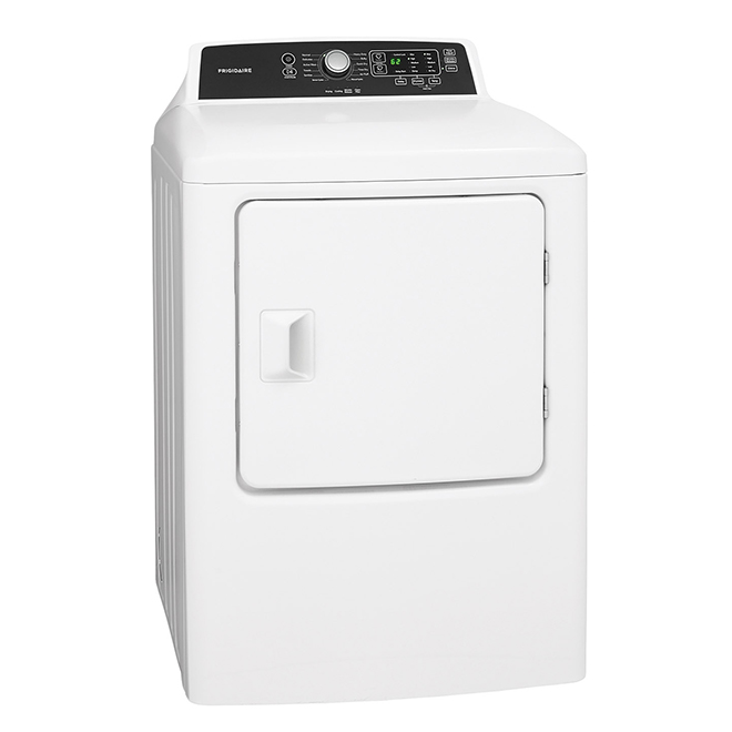High-Efficiency Electric Dryer with Anti-Wrinkle - 6.7 cu ft