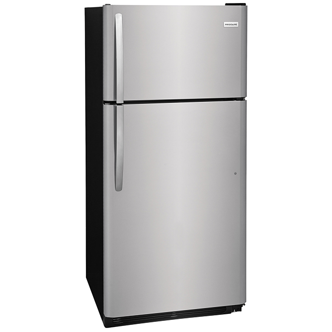 "Top-Freezer Refrigerator 30"" - 18.0 cu. ft - Stainless Steel"