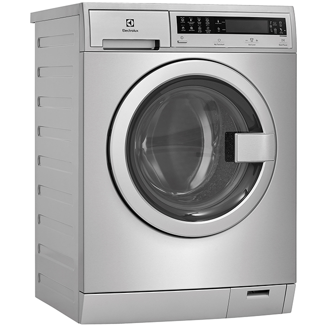Compact Washer with Perfect Steam - 2.4 cu. ft. - Stainless