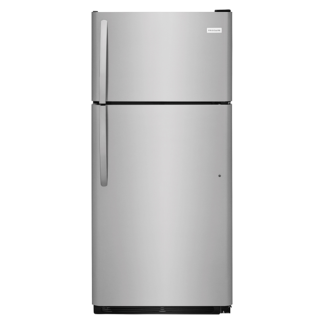 "Top-Freezer Refrigerator 30"" - 18.0 cu. ft - Stainless Steel"