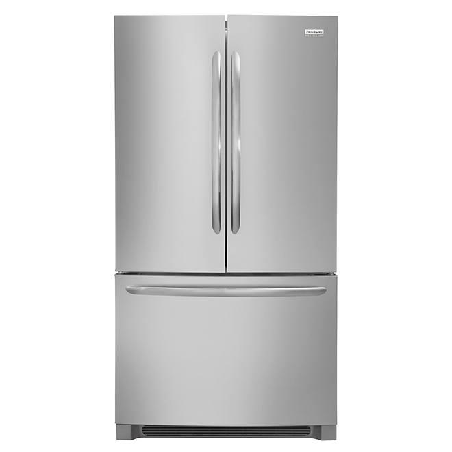 Refrigerator with Quick Freeze Option - 23 cu. ft. - SS