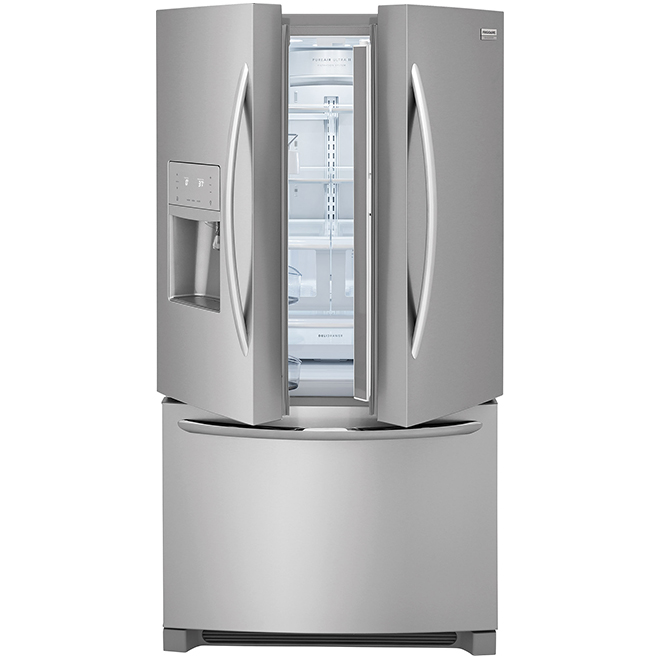 French Door Refrigerator - 28 cu. ft. - Stainless Steel