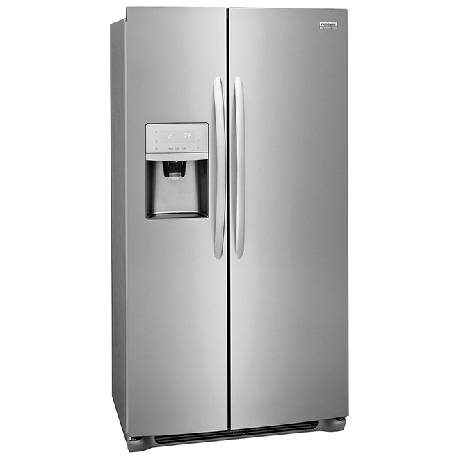 Side-by-Side Refrigerator - 22 cu. ft. - Stainless Steel