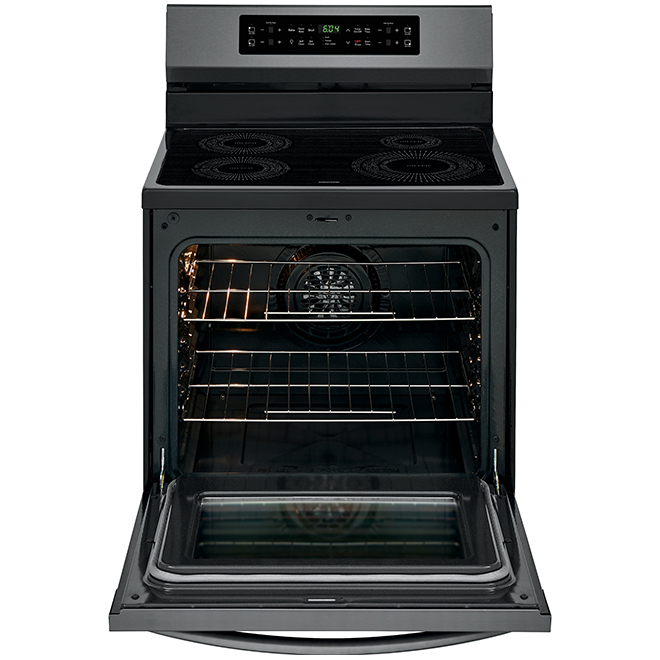 Electric Induction Range - 5.4 cu. ft. - Black Stainless