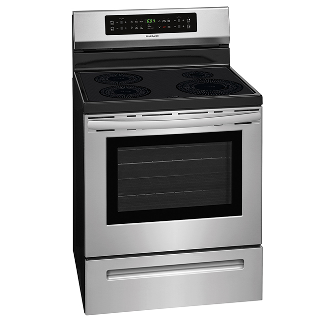 Electric Induction Range - 5.3 cu. ft. - Stainless Steel