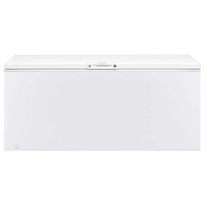 "Chest Freezer - Horizontal - 83 1/8"" - 24.8 cu. ft - White"