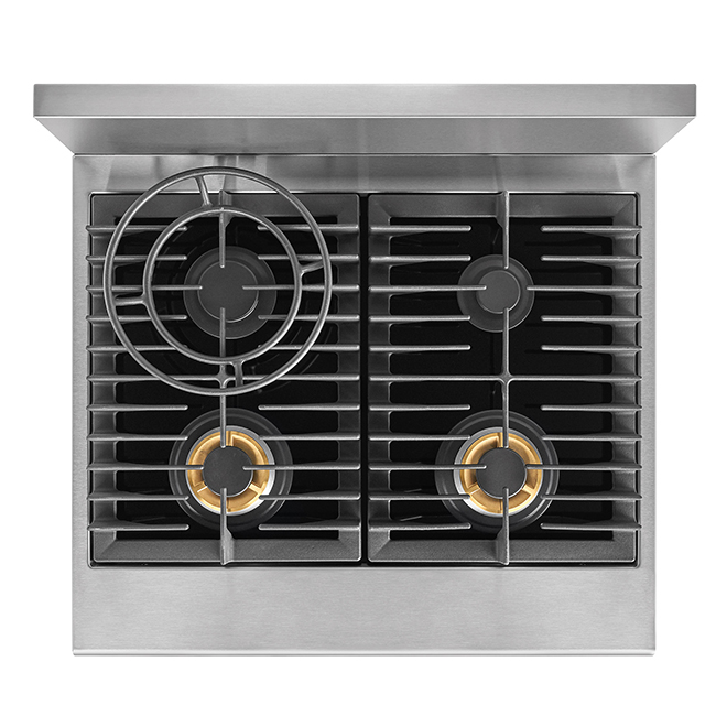 Freestanding Dual-Fuel Convection Range - 4.6 cu. ft. - Stainless Steel