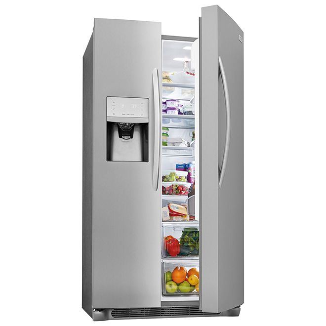 Counter-Depth Refrigerator - 22 cu. ft. - Stainless Steel