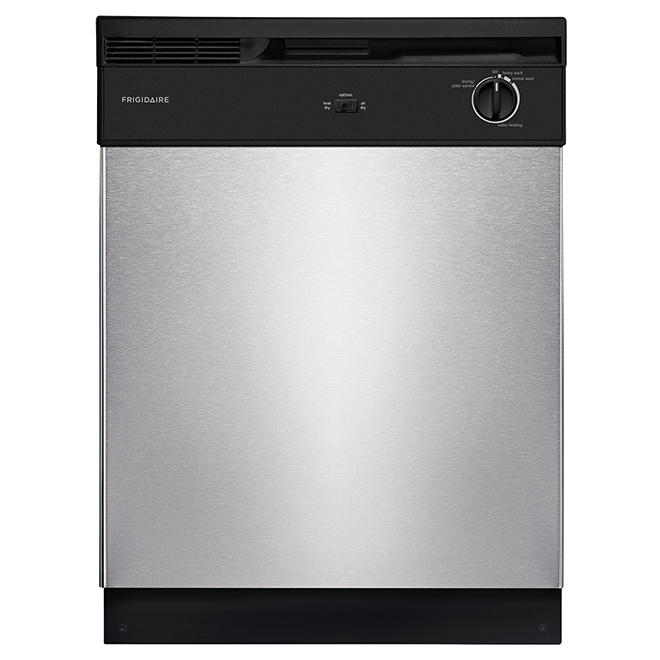 "Built-In Dishwasher with Tall-Tub Design - 24"" - SS"