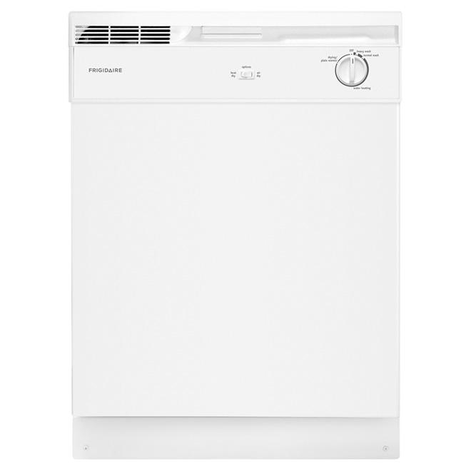 """Lave-vaisselle encastrable Frigidaire, 24"""", blanc"""