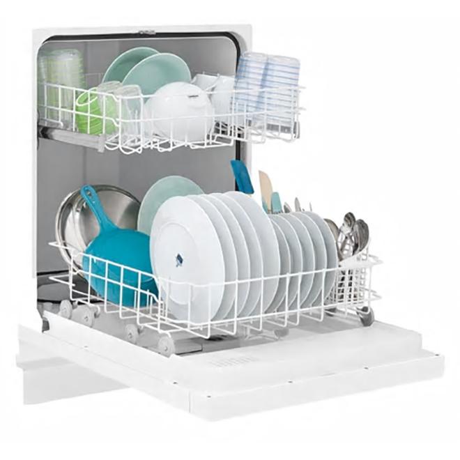 frigidaire lave vaisselle encastrable 24 blanc. Black Bedroom Furniture Sets. Home Design Ideas