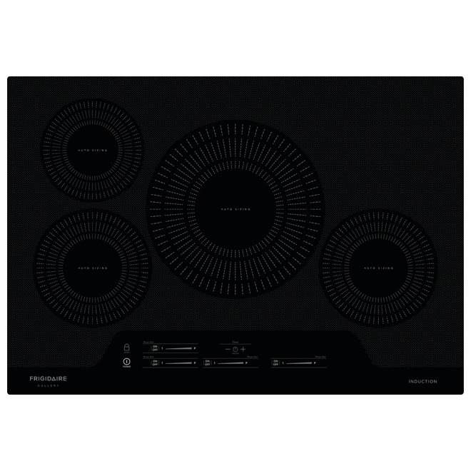 """30"""" Induction Built-in Cooktop - Black"""