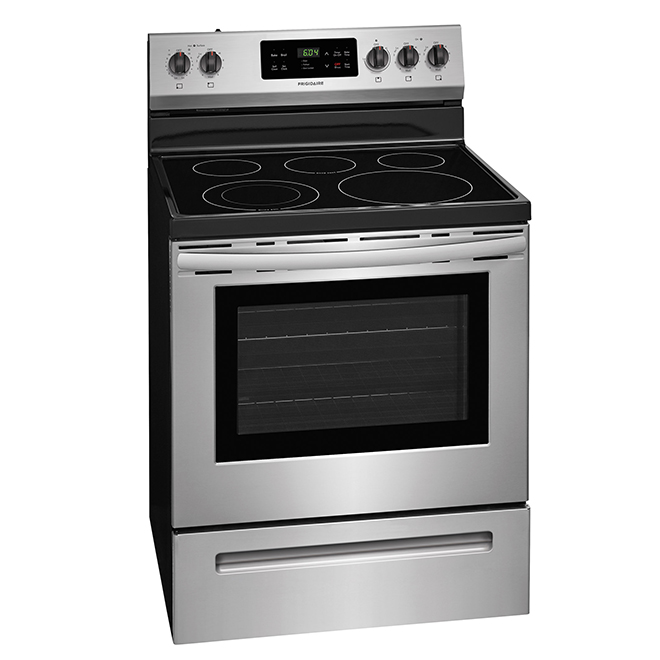 "Electric Range - 5.3 cu. ft. - 30"" - Stainless Steel"