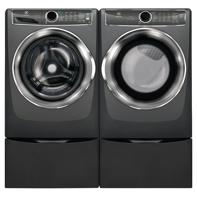 "Front Load Washer - 5.1 cu. ft. - 27"" - Titanium"