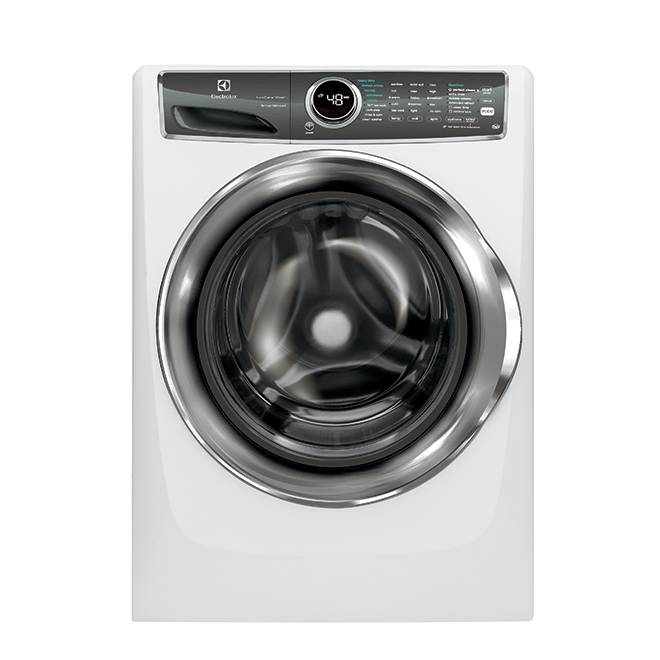 Front Load Washer - Perfect Steam/LuxCare - 5.1 cu. ft. - White