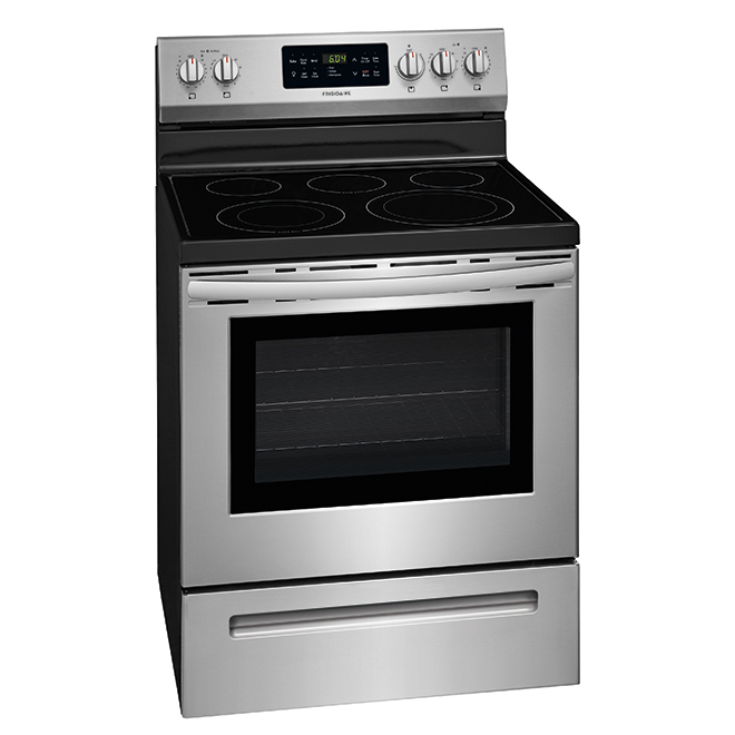 """Free-Standing Electric Range - 30"""" - 5.4 cu. ft. - SS"""