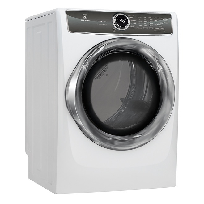 Front Load Gas Dryer - Perfect Steam - 8cu.ft. - White
