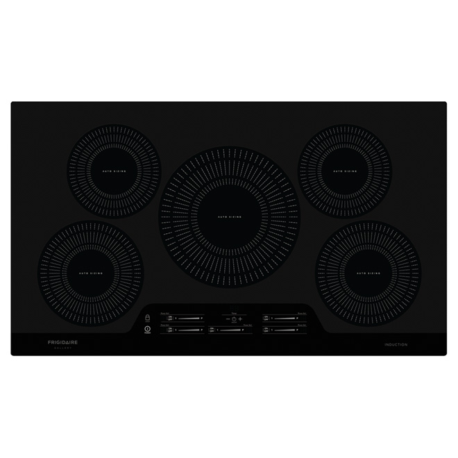 """36"""" Induction Built-in Cooktop - Black"""
