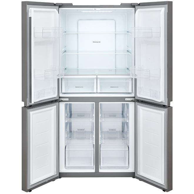 """4-Door Refrigerator - 33"""" - 17.4 cu. ft. - Stainless Steel"""