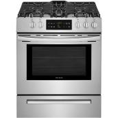 "30"" Freestanding Gas Range - 5.0 cu. ft. - Stainless Steel"
