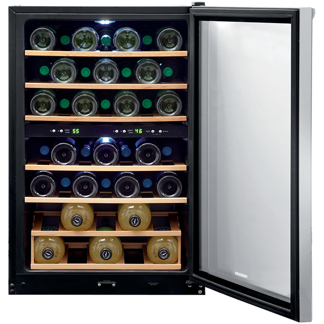 """Frigidaire(R) Wine Cooler - 38 Bottles - 21.5"""" - Stainless"""