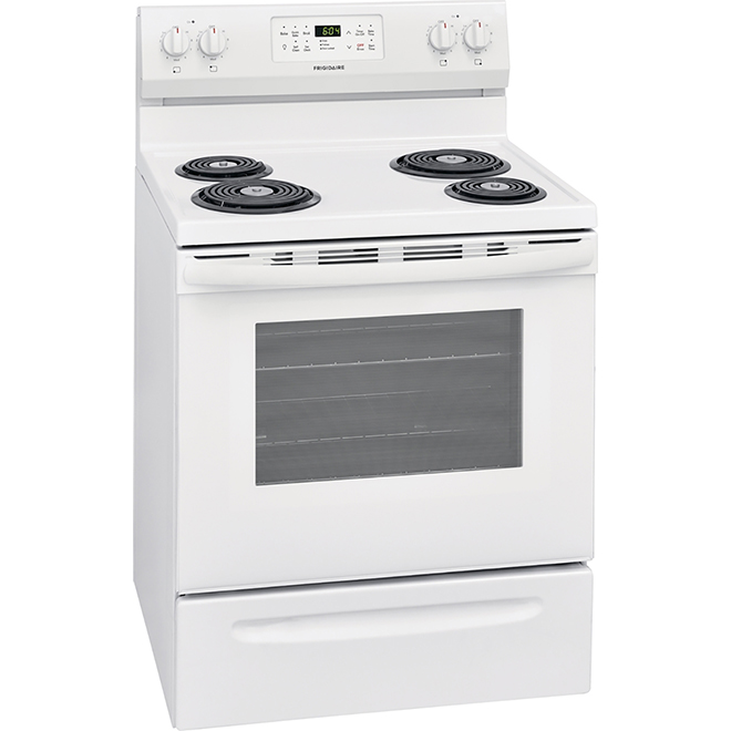 "Coil Electric Range - 5.4 cu. ft. - 30"" - White"