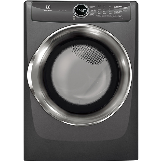 Gas Dryer - Perfect Steam and LuxCare - 8 cu. ft. - Titanium