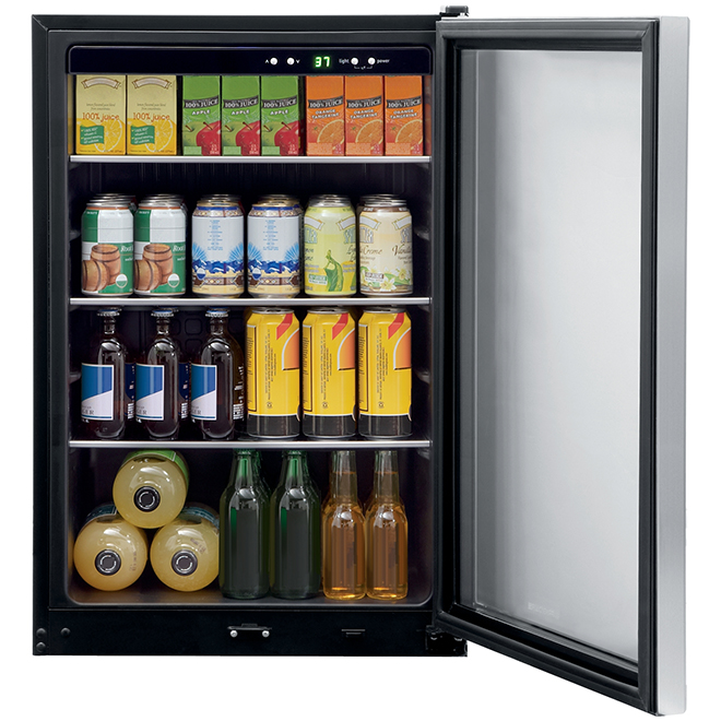 Frigidaire(R) Beverage Cooler - 138 Cans - Stainless