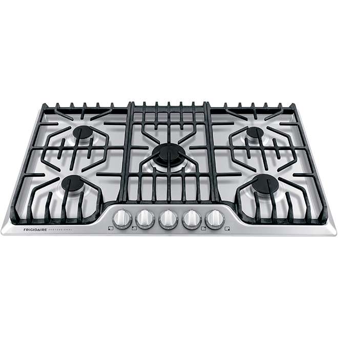 "Frigidaire Pro Gas Cooktop - 36"" - 5 Burners - Stainless Steel"