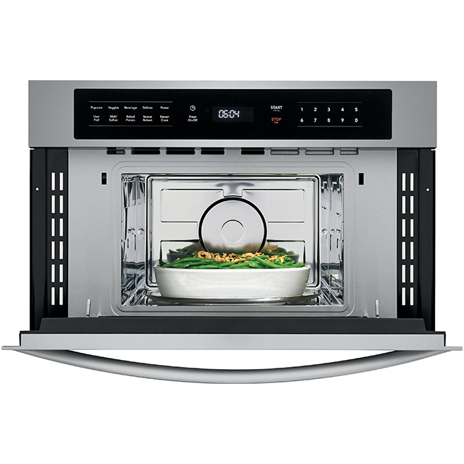 Drop-Down Door Microwave - 950 W - 1.6 cu. ft. - Stainless Steel