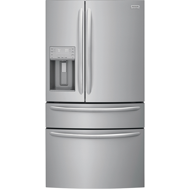 "French-Door Refrigerator - 36"" - 21.8 cu. ft. - SS"