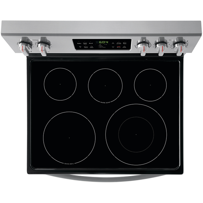 """Self-Cleaning Electric Range - 5.4 cu. ft. - 30"""" - Stainless"""