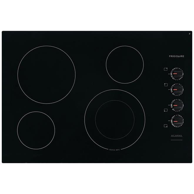 "Frigidaire(R) Electric Cooktop - Ceramic Glass - 4 Elements - 30"" - Black"