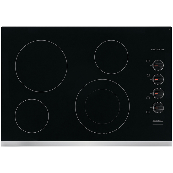 """Frigidaire(R) Electric Cooktop - Ceramic Glass - 4 Elements - 30"""" - Stainless Steel"""