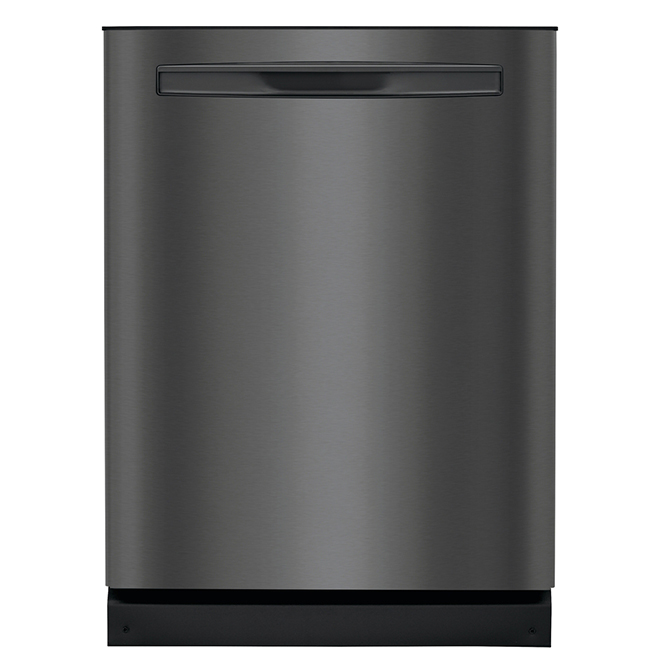 """Built-In Dishwasher with OrbitClean(R) - 24"""" - Black SS"""