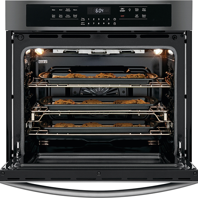 """Convection Wall Oven - 5.1 cu. ft. - 30"""" - Black Stainless"""