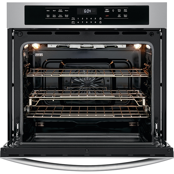"""Frigidaire Gallery Simple Wall Oven with True Convection - 30"""" - 5.1 cu. ft. - Stainless Steel"""