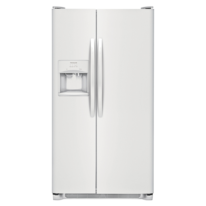 "Frigidaire 33"" Side-by-Side Refrigerator - 22.1 cu. ft - White"