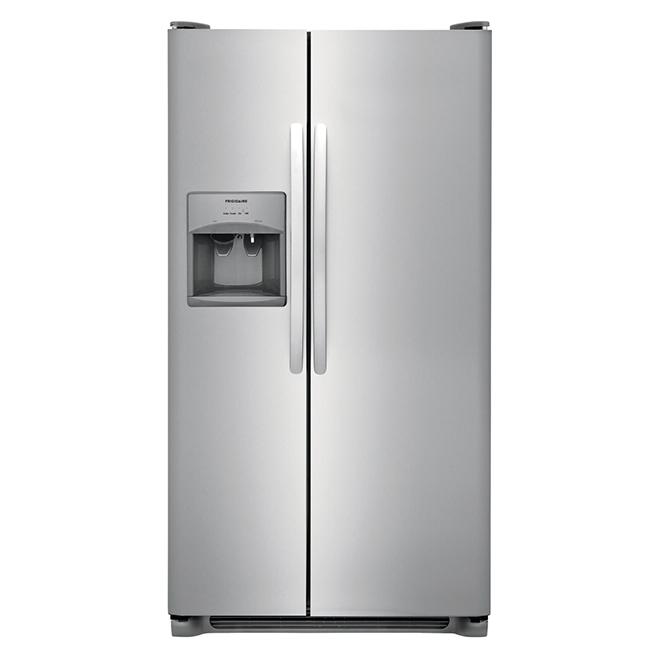 "Frigidaire(R) 36"" Side-by-Side Refrigerator - 25.5 cu. ft - SS"