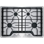 "Frigidaire Gallery(R) Gas Cooktop - 30"" - Stainless Steel"