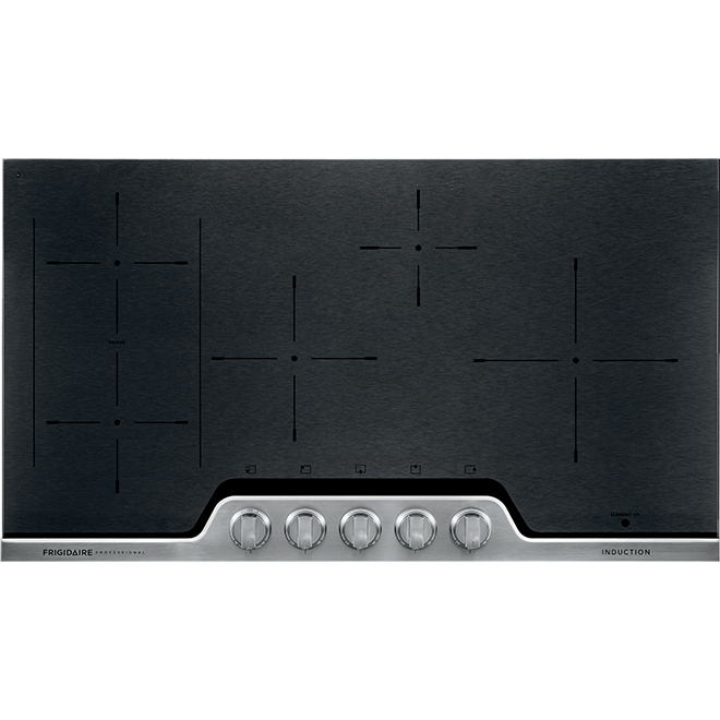 "Frigidaire Pro(R) Induction Cooktop  - 5 Elements - 36"" - Black"